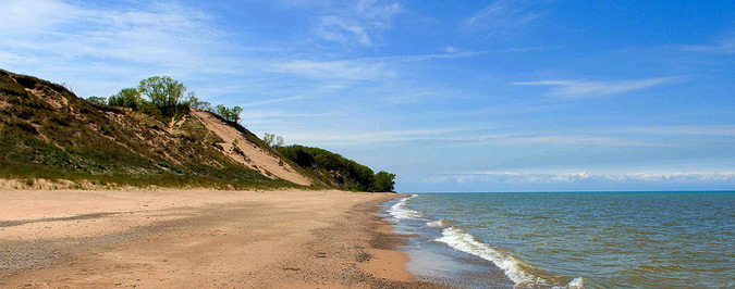 The Indiana Dunes Central Beach