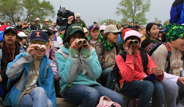 Indiana Dunes National Lakeshore birding with Audubon Society